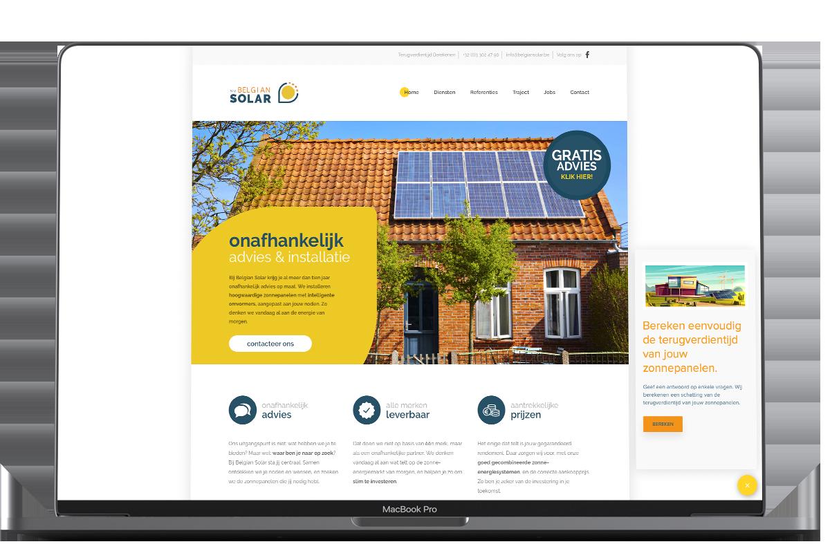 Leadgeneratie Belgian Solar