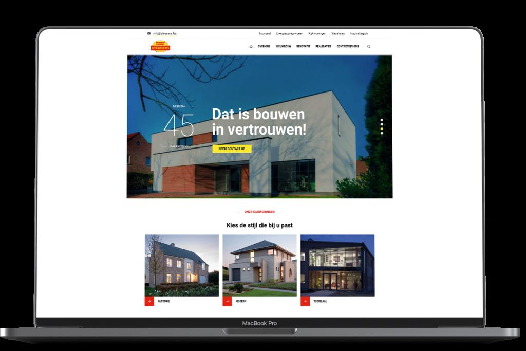 bouwbedrijf stessens website case
