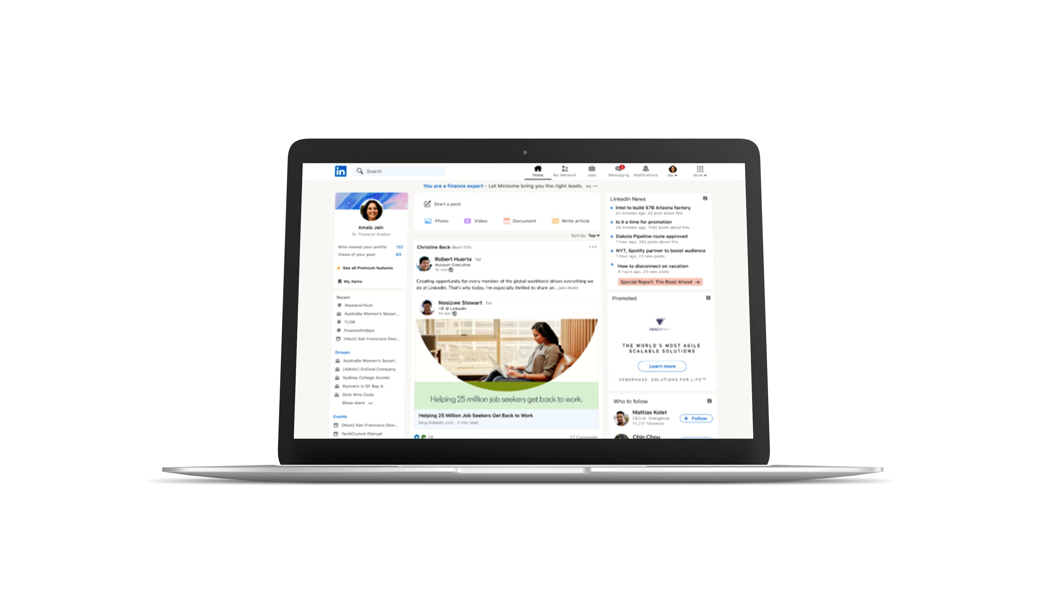 LinkedIn rebranding