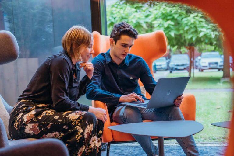 Digitale marketing meeting Tunity